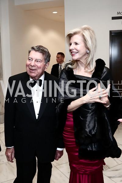 Calvin and Jane Cafritz. Photo by Tony Powell. Inaugural American Portrait Gala. November 15, 2015