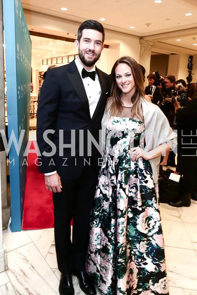 Ryan and Whitney Burns. Photo by Tony Powell. Inaugural American Portrait Gala. November 15, 2015