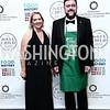 Lillian Sherman, David Ghoddousi. Photo by Tony Powell. Inaugural Smithsonian Food History Gala. October 22, 2015