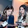 Wendy Martinez, Erica Chicola. Photo by Tony Powell. IWMF Reporta Launch. Newseum. October 2, 2015