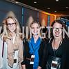 Lyndsey Wajert, Holly Koch, Cassie Balfour. Photo by Tony Powell. IWMF Reporta Launch. Newseum. October 2, 2015