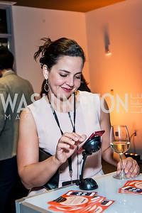 Jocelyn Prudencio. Photo by Tony Powell. IWMF Reporta Launch. Newseum. October 2, 2015