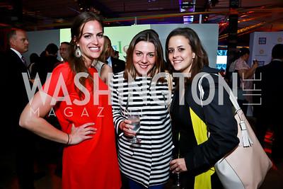 Jena Gross, Caitlin Brosseau, Federica Rabiolo. Photo by Tony Powell. Internet Association 2015 Charity Gala. April 14, 2015