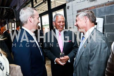 Perry Robinson, Henry Bonilla, Rep. Fred Upton. Photo by Tony Powell. Internet Association 2015 Charity Gala. April 14, 2015