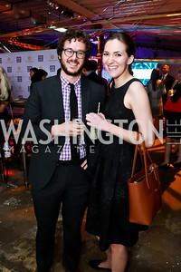 Ben Terris, Betsy Woodruff. Photo by Tony Powell. Internet Association 2015 Charity Gala. April 14, 2015