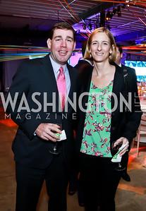 Facebook Director of Govt. Affairs Greg Maurer, Yahoo Senior Director of Govt. Affairs Margaret Nagle. Photo by Tony Powell. Internet Association 2015 Charity Gala. April 14, 2015