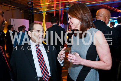Rep. Jerrold Nadler, Kathy Leo. Photo by Tony Powell. Internet Association 2015 Charity Gala. April 14, 2015