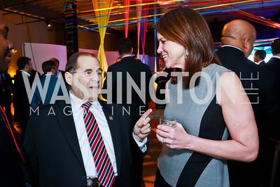 Rep. Jerrold Nadler, Kathy Leo. Photo by Tony Powell. Internet Association 2015 Charity Gala. April 14, 2015