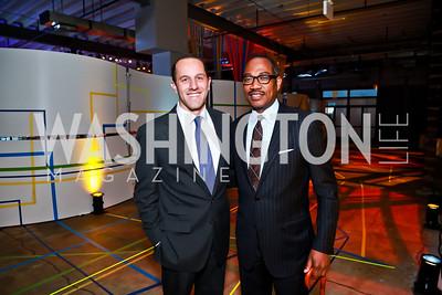 Dave Grimaldi, Yelburton Watkins. Photo by Tony Powell. Internet Association 2015 Charity Gala. April 14, 2015