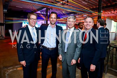 Jay Carney, Michael Beckerman, Rep. Fred Upton, Brian Huseman. Photo by Tony Powell. Internet Association 2015 Charity Gala. April 14, 2015