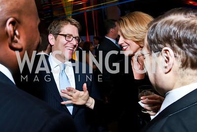 Jay Carney, Rebecca Cooper. Photo by Tony Powell. Internet Association 2015 Charity Gala. April 14, 2015