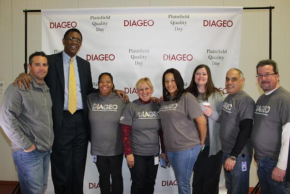 DIAGEO Plainfield Quality Day January 6, 2015
