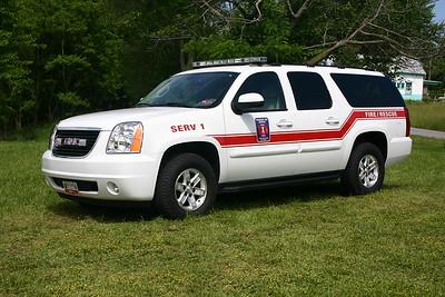 SERV 1 is a 2006 GMC Yukon.