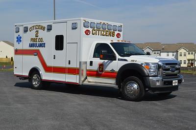 Officer side of Ambulance 2.