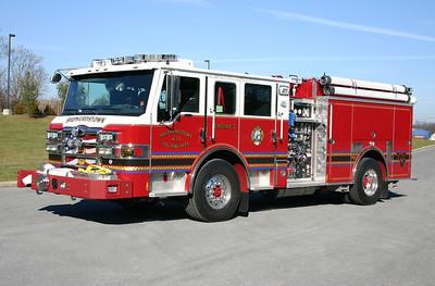 Engine 3 is a sharp 2012 Pierce Velocity, 2000/750, sn- A25927.
