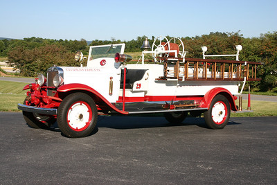 Citizen's antique is this 1929 Chevrolet/FD with an American pump.  Sold in 1952 to the Halltown Paperboard Company, then back to Citizens.
