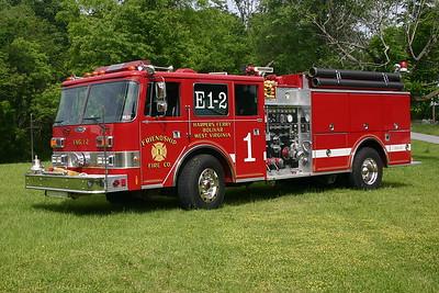 Engine 1-2's 1989 Pierce Arrow, 1250/1000, sn- E5439.