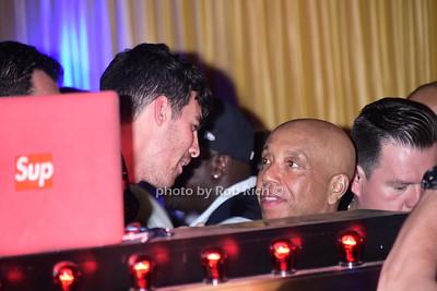 Joe Jonas and Russell Simmons at 1 OAK niteclub in Southampton on 7-19-15. photo by Rob Rich/SocietyAllure.com © 2015 robwayne1@aol.com 516-676-3939