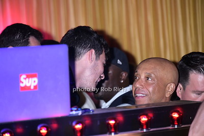Joe Jonas and Russell Simmons at 1 OAK niteclub in Southampton on 7-19-15. photo by Rob Rich/SocietyAllure.com © 2015 robwayne1@aol.com 516-676-3939