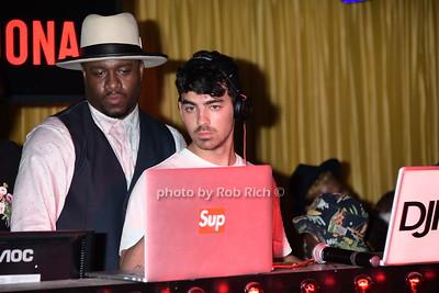 DJ Mos and Joe Jonas at 1 OAK niteclub in Southampton on 7-19-15. photo by Rob Rich/SocietyAllure.com © 2015 robwayne1@aol.com 516-676-3939
