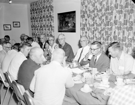 This was a Farm Bureau luncheon in July 1966 at the Ramada Inn. Do you know any of those in attendance? If so, share the information online under the photo on the Effingham Daily News Facebook page.