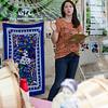 Joanna Benoit speaks during Flats Mentor Farm's 2nd Annual Tour de Farm on Friday afternoon. SENTINEL & ENTERPRISE / Ashley Green