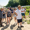 Guests tour Flats Mentor Farm during their 2nd Annual Tour de Farm on Friday afternoon. SENTINEL & ENTERPRISE / Ashley Green