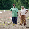 Mary Kinyua and Josephine Kihu, both from Kenya, work on their crops at World Farmers in Lancaster. SENTINEL & ENTERPRISE / Ashley Green