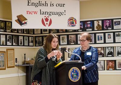 Literacy Volunteers celebrate building futures