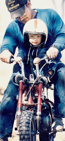 A biker in training. Do you recognize them? Post the information under the photo on the Effingham Daily News Facebook page.