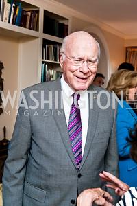Sen. Patrick Leahy. Photo by Tony Powell. Lucky Roosevelt NPR party. September 11, 2015