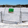 """With temperatures in the 50s and blue skies, a sign begs for warmer weather, stating """"come on spring"""" by Lake Whalom in Lunenburg, Saturday.<br /> SENTINEL & ENTERPRISE / BRETT CRAWFORD"""