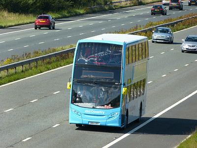 National Express West Midlands 4991 140822 M6 [Barnacre]