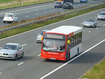 National Express West Midlands 0840 140905 M6 [Barnacre]