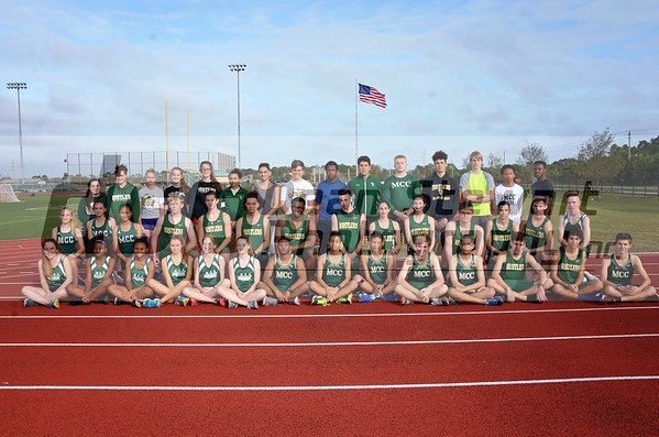 MCC Track + Field Team Shots and Practice 2-8-18