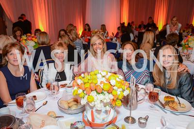 Jody Lagioia, Kathy DeMuro, Didi Parker, Deborah Testa, Dr. Kirsten Hanson, MS Women on the Move Luncheon, at the Marriott Wardman Park, Wednesday, April 15, 2015, photo by Ben Droz,