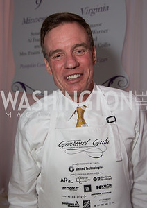 "Senator Mark Warner (D-VA) served ""Stuffed Eggs"""