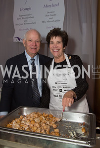 Senator Ben Cardin (D-Maryland) and Mrs. Myrna Cardin