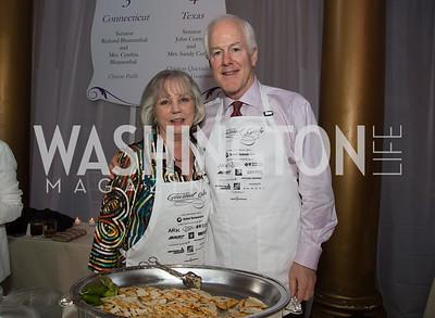 Senator John Cornyn (R-Texas) and Mrs. Sandy Cornyn