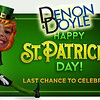 LAST CHANCE for St Pats Laughs