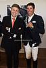 Juan-Carlos Capelli, VP and head of international marketing for Longines, Paul O'Shea, winner of the Longine's $40,000 cup
