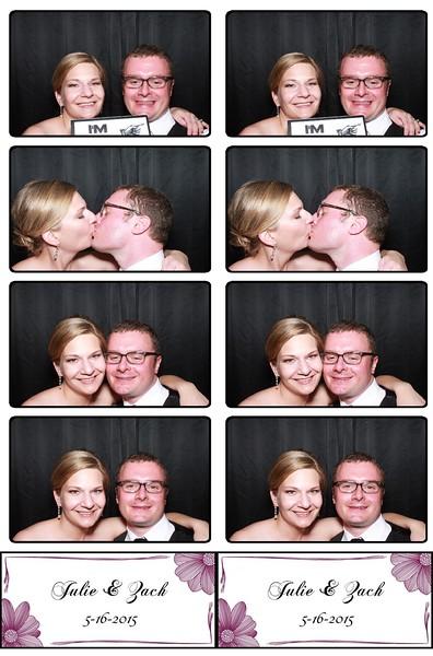 Julie & Zach May 16th, 2015