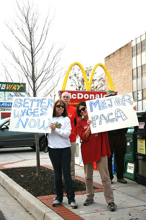 McDonalds Wage Protest December 5, 2013