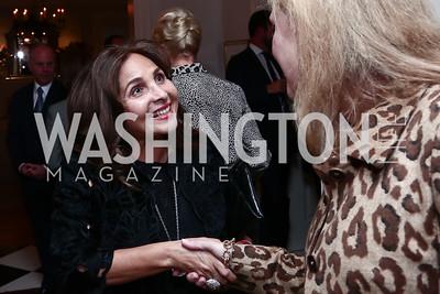 Samia Farouki. Photo by Tony Powell. Fast Forward Book Party. McLarty Residence. October 13, 2015