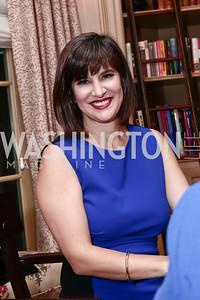 Kim Azzarelli. Photo by Tony Powell. Fast Forward Book Party. McLarty Residence. October 13, 2015