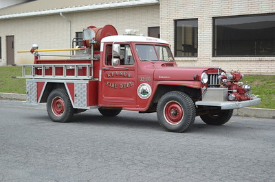 Keyser, WV Brush 33-16, a 1957 Willys Jeep.  500/200.