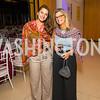 Sophia Rosetti, Amy Kaslow. Photo by Alfredo Flores. Moment Magazine's 40th Anniversary Celebration Gala & Awards Dinner. Embassy of France. November 15, 2015