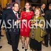 Andrew Mack, Amy Mack, Diane Bolz. Photo by Alfredo Flores. Moment Magazine's 40th Anniversary Celebration Gala & Awards Dinner. Embassy of France. November 15, 2015