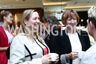 Kathy Cox, Judy Burke. Photo by Tony Powell. Monica Rich Kosann Event. Liljenquist & Beckstead. June 26, 2015