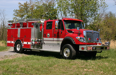 South Morgan, WV Engine 3-11, a 2013 International 7600/4-Guys  1500/1000/30 with serial number F-2817,